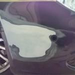 メルセデスベンツ CLS バンパー修理