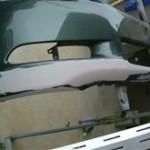レクサス GS ハイブリッド バンパー修理