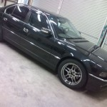 BMW 7シリーズ(E38) エアコンモーター取り替え(愛知県・岐阜県・三重県・名古屋)