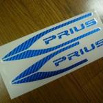 プリウス30 USスカッフプレート用ステッカー