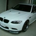 BMW M3(E92) 飛び石傷修理 (愛知県・岐阜県・三重県・名古屋)