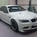 BMW M3(E92) アーキュレーフロントスポイラー取り付け (愛知県・岐阜県・三重県・名古屋)