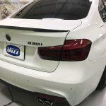 テールランプ スモークフィルム 施工 BMW3シリーズ