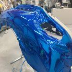 ポルシェ911 gt3 2017 カップカー補修