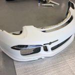 ポルシェ911 gt3 2017 カップカー補修中