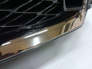 車のメッキモールくすみ・腐食の保護、コーティング以外
